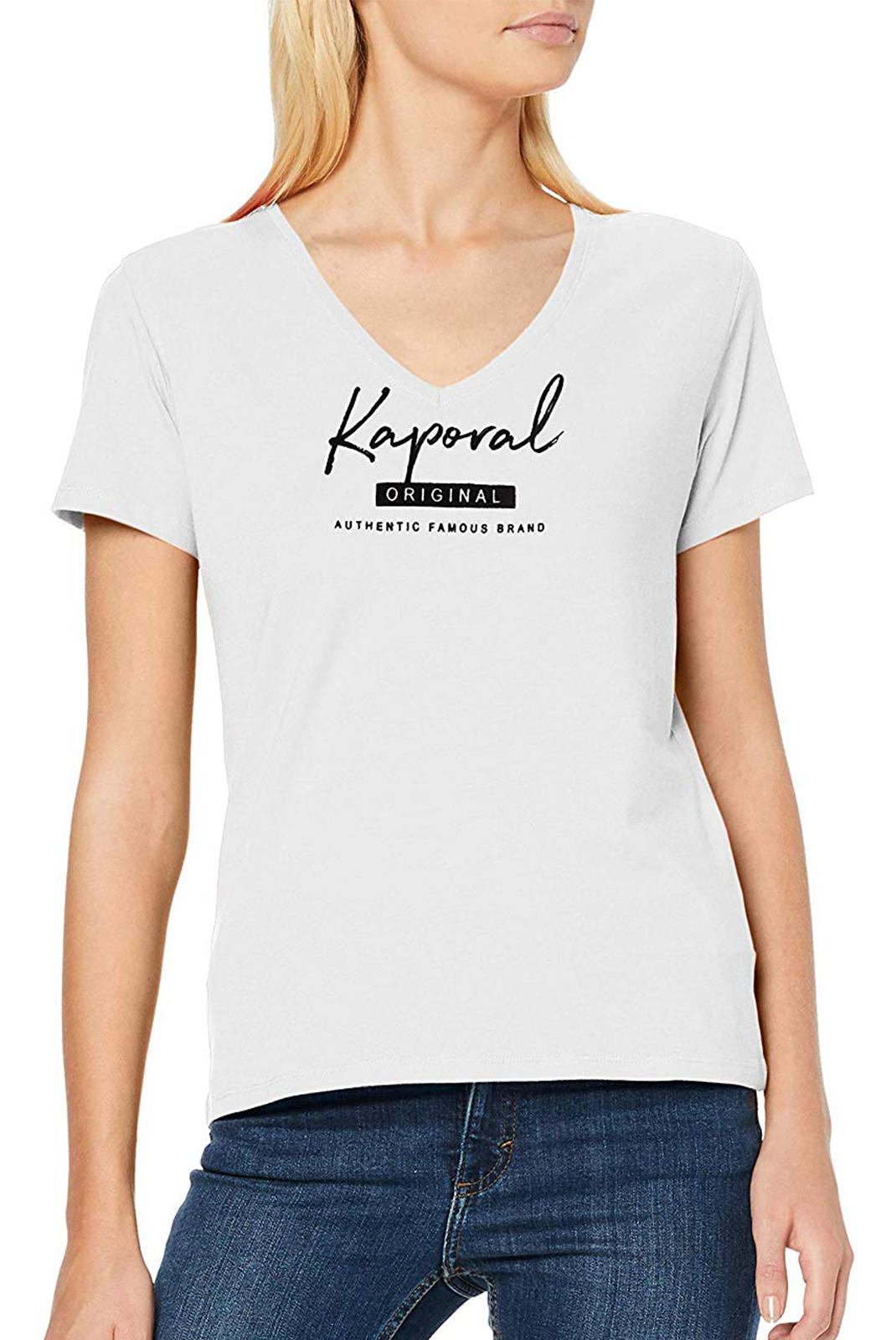 Tee shirt  Kaporal XAVRA WHITE