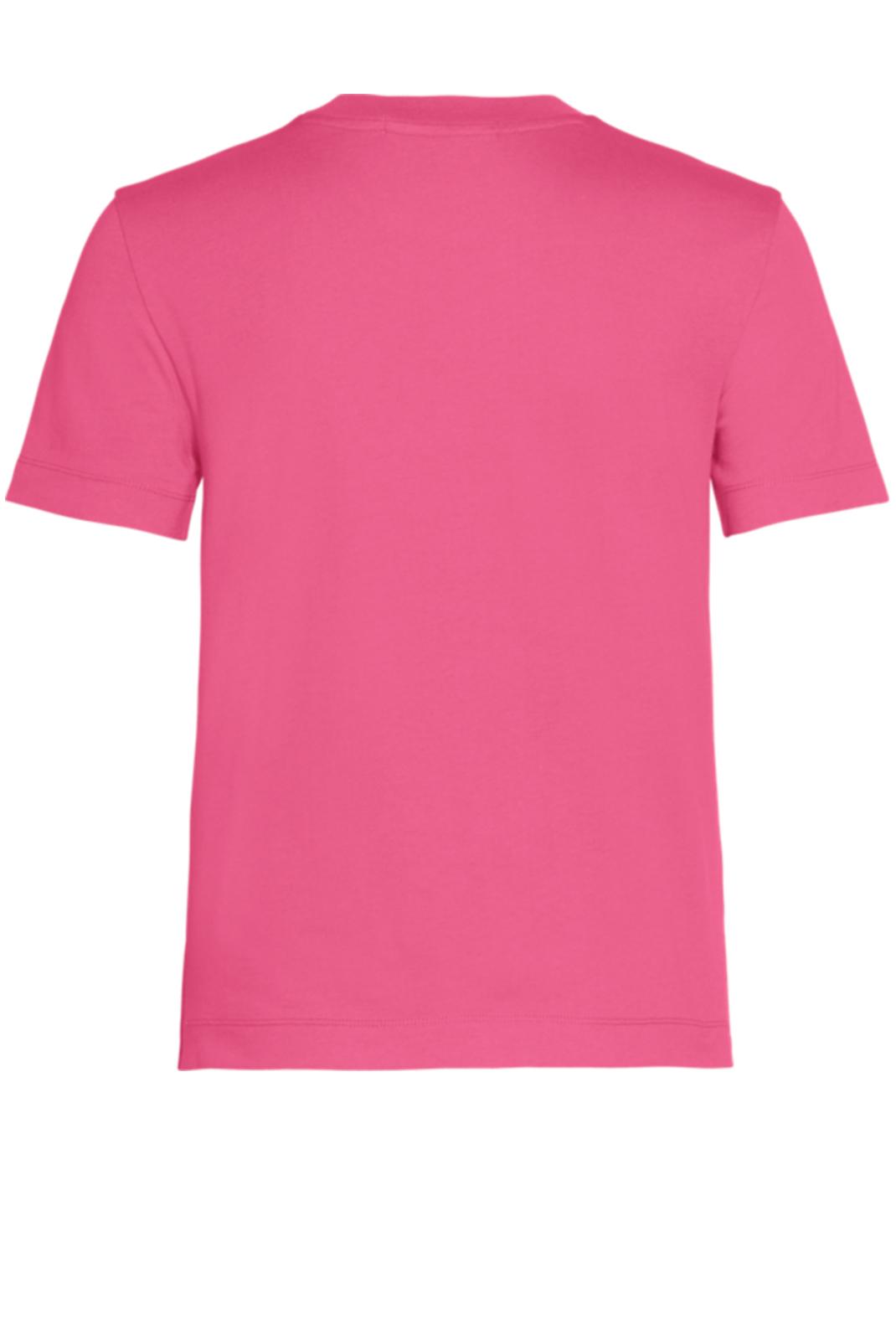 Tee shirt  Calvin klein J20J212879 VGY RASPBERRY SORBET