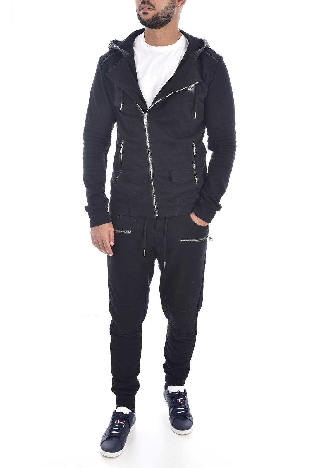 Pantalons sport/streetwear  Comme des loups S1801/S1802 NOIR