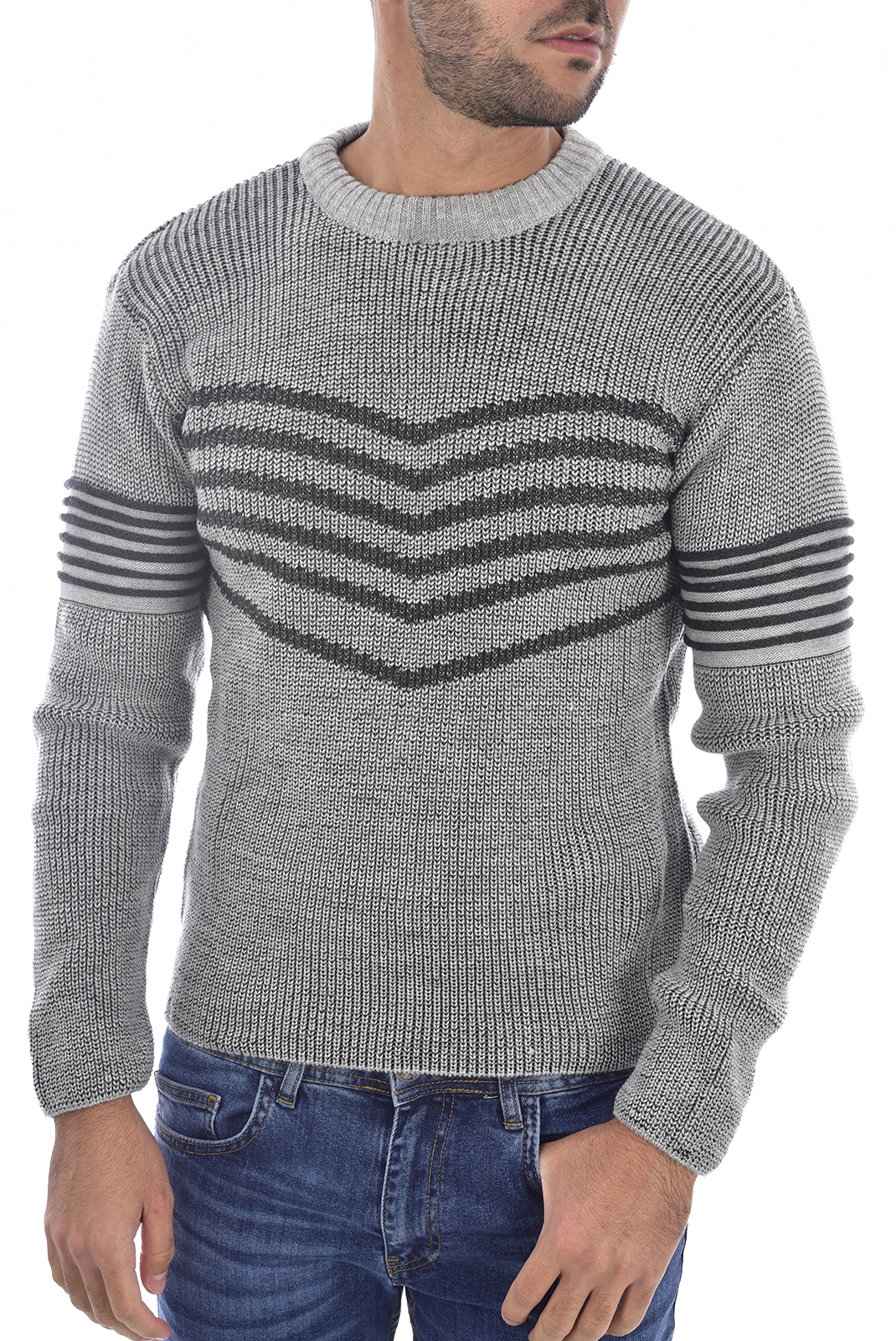 Homme  Goldenim paris 1259 GRIS CLAIR