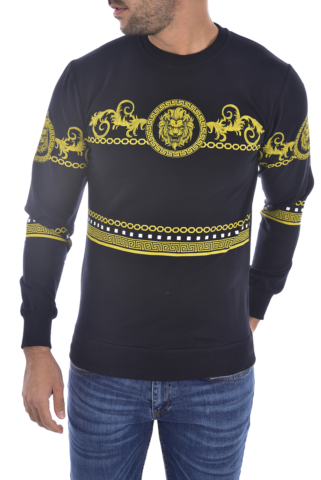 Sweatshirts  Goldenim paris 1236 NOIR