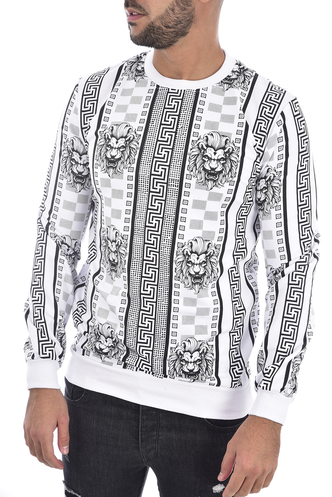 Sweatshirts  Goldenim paris 1240 BLANC