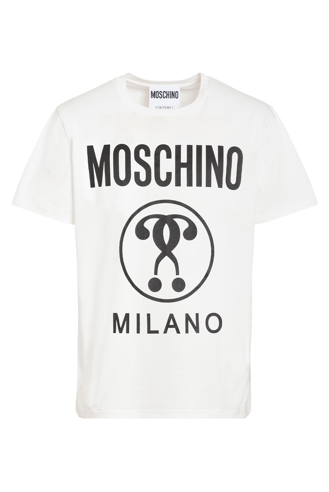 T-S manches courtes  Moschino ZPA0706 1001 BLANC