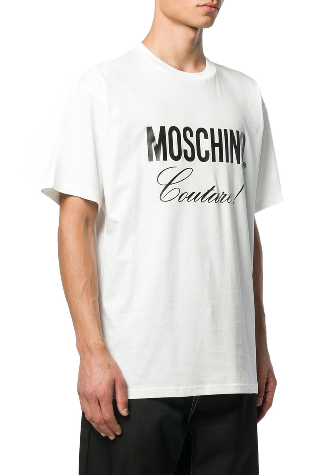 T-S manches courtes  Moschino ZA0710 1002 BLANC