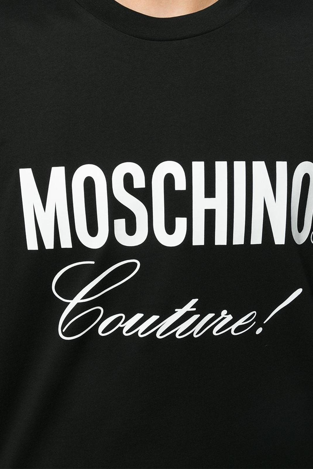 T-S manches courtes  Moschino ZA0710 1555 NOIR