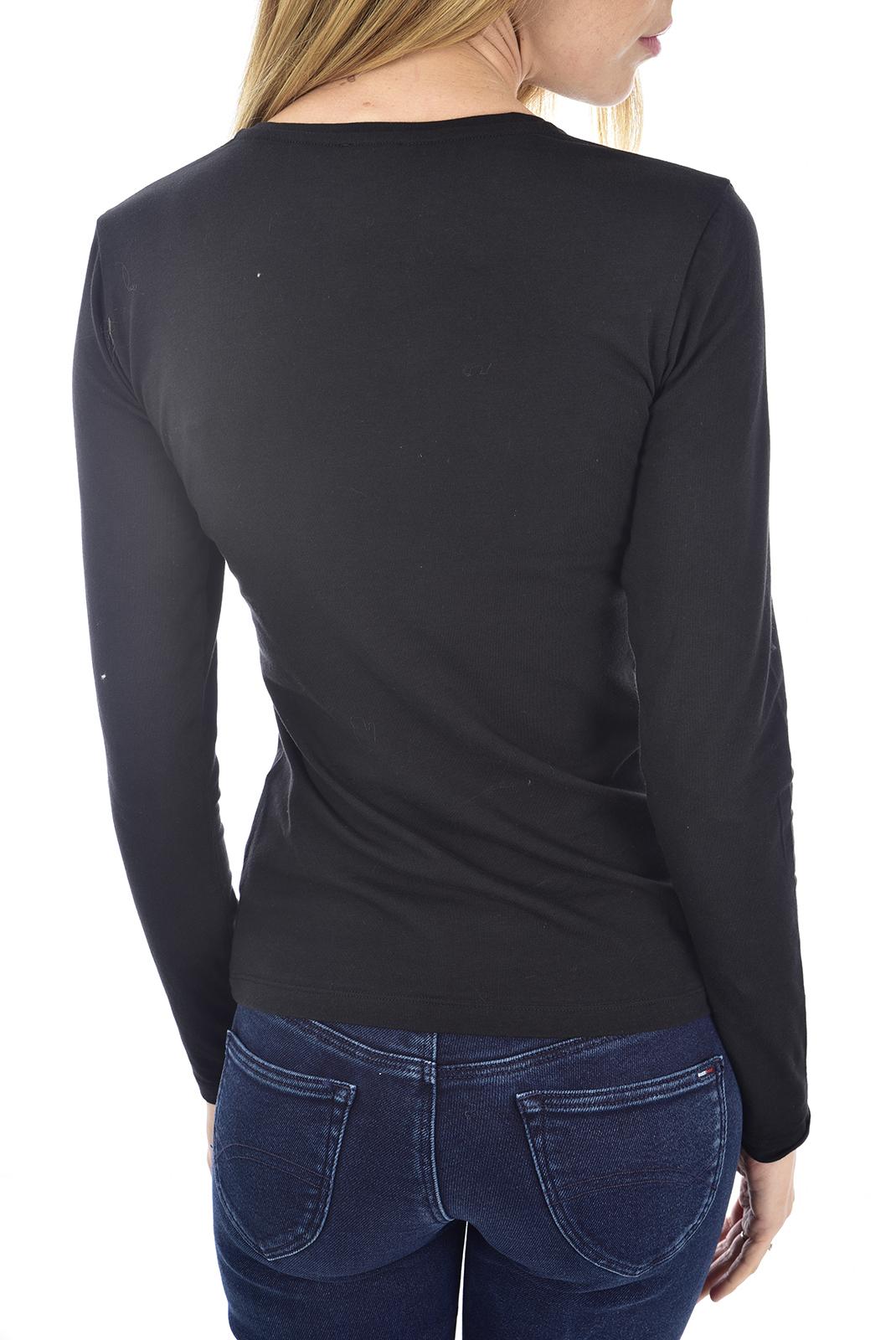 Tee shirt manches longues  Emporio armani 163229 9A232 020 BLACK