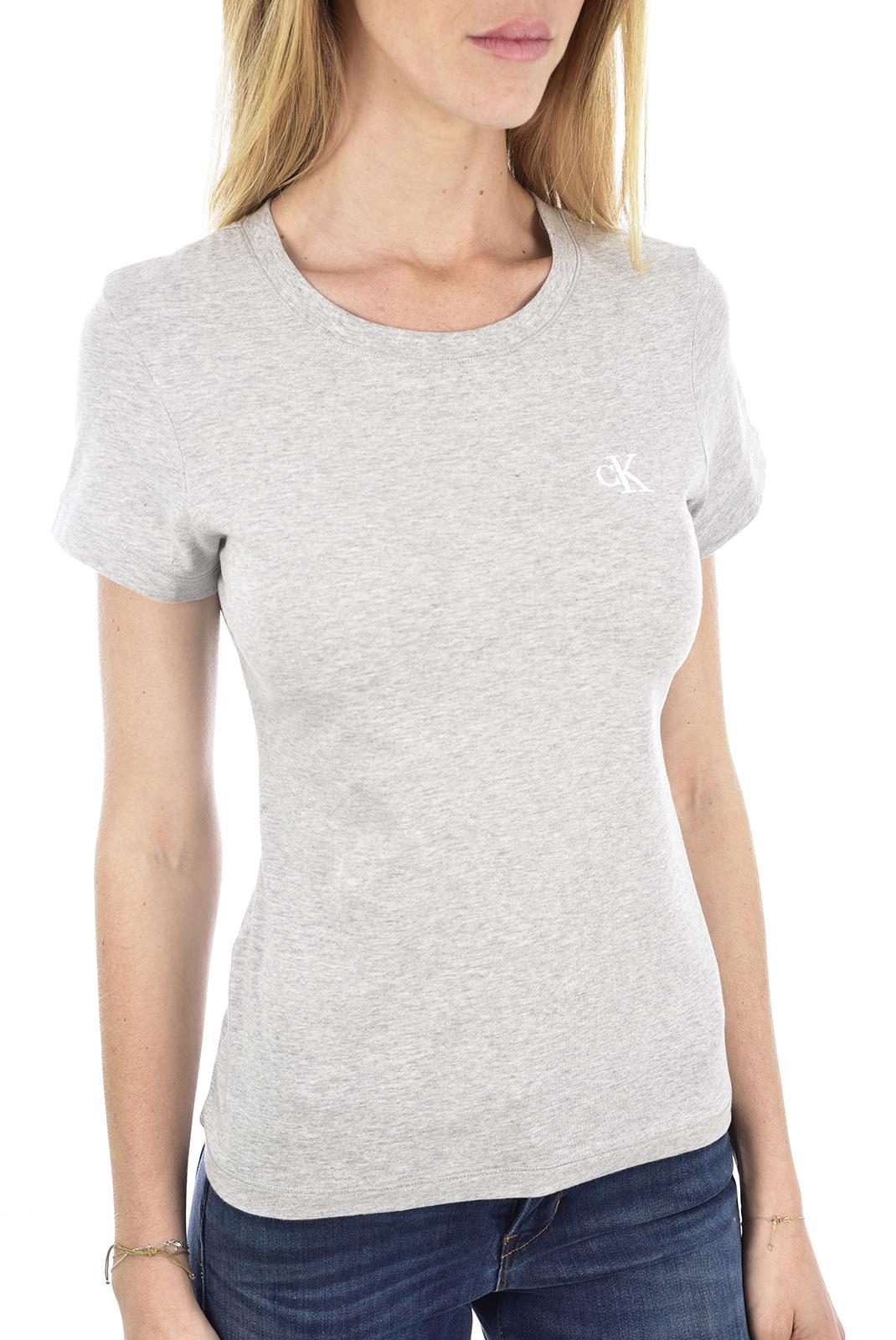 Tee shirt  Calvin klein J20J212883 P01 LIGHT GREY