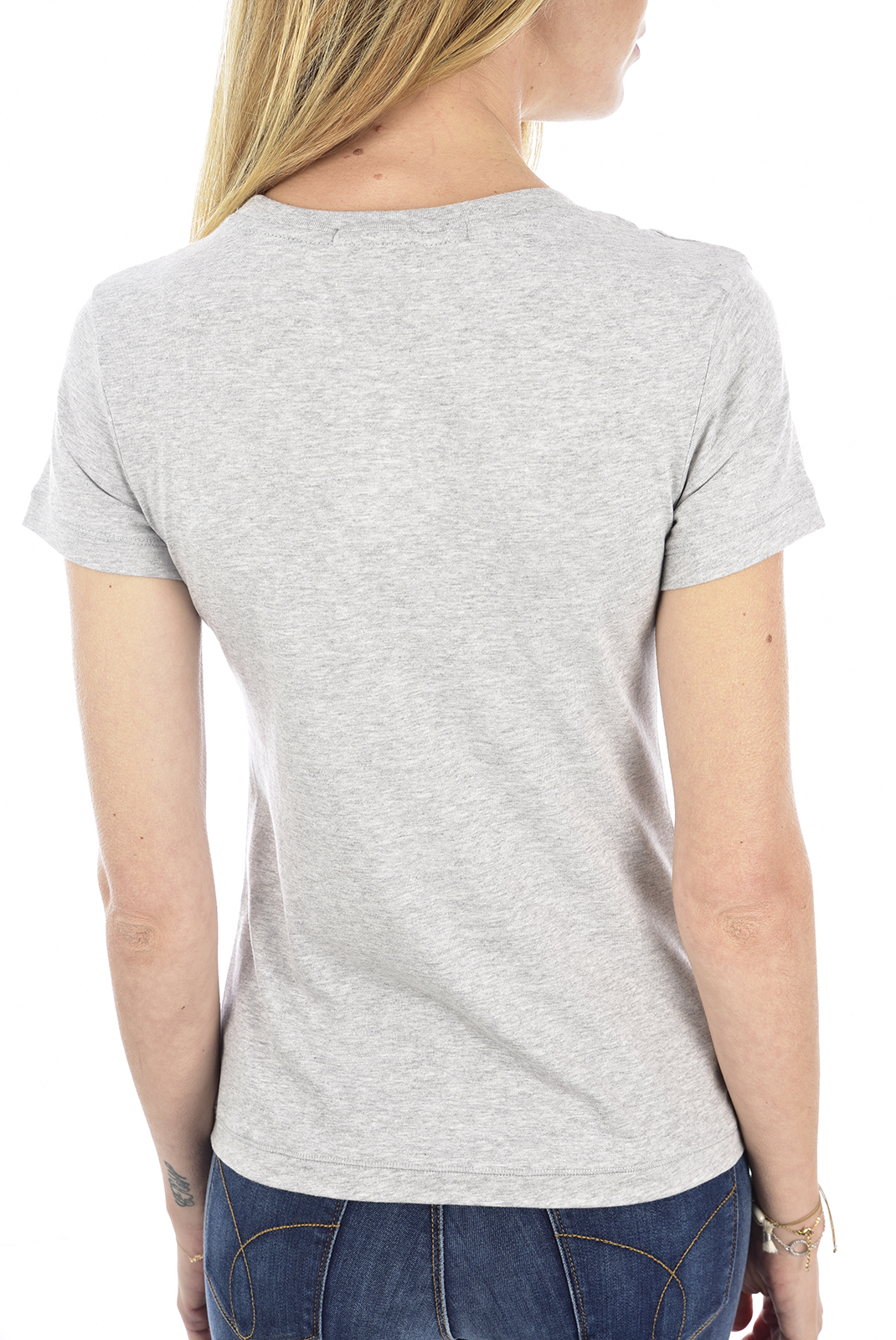 Tee shirt  Calvin klein J20J212883 EMBROIDERY P01 LIGHT GREY