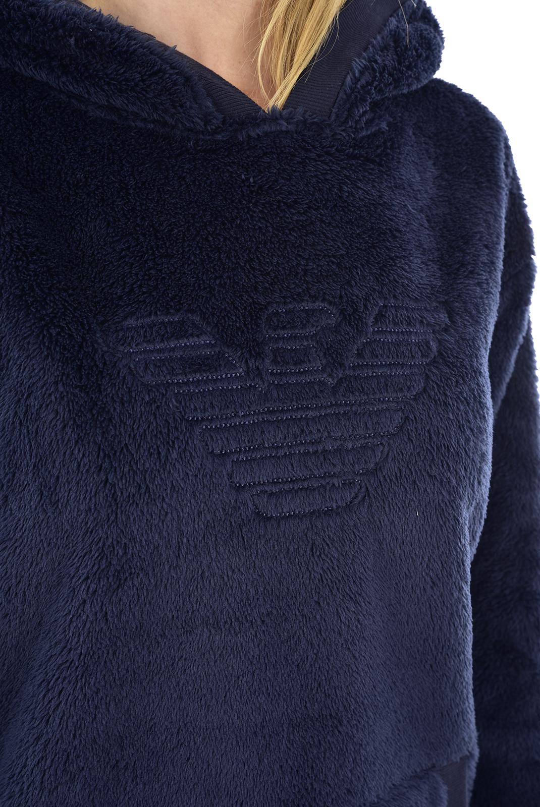 Sweat / sweat zippé  Emporio armani 164218 9A258 00135 BLEU