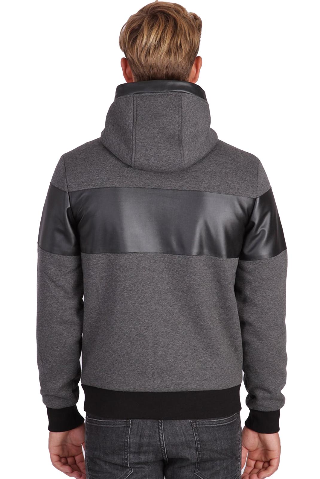 Vestes zippées  Kaporal MAFIA Dark grey melanged