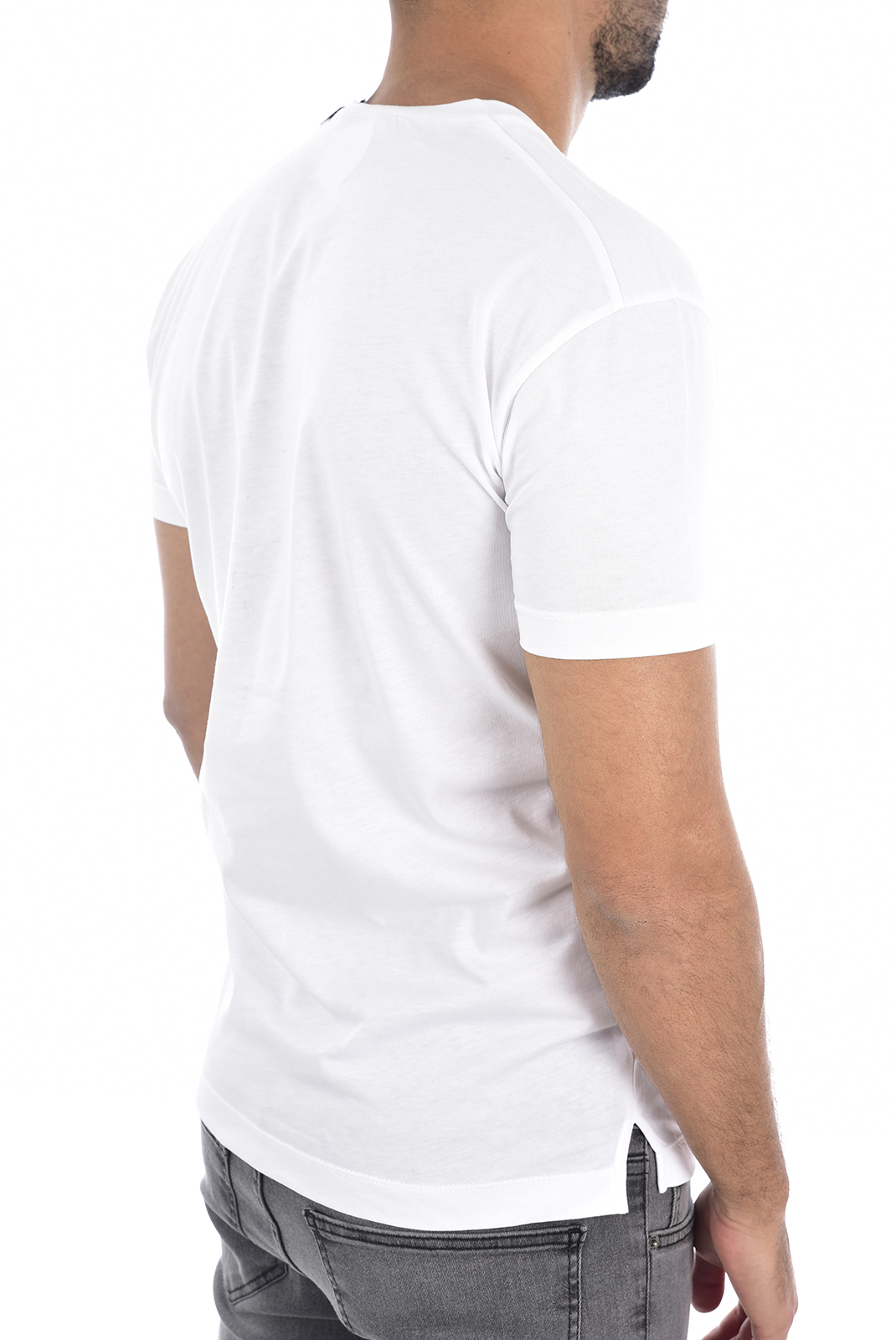 T-S manches courtes  Dsquared2 S74GD0531 100 BLANC