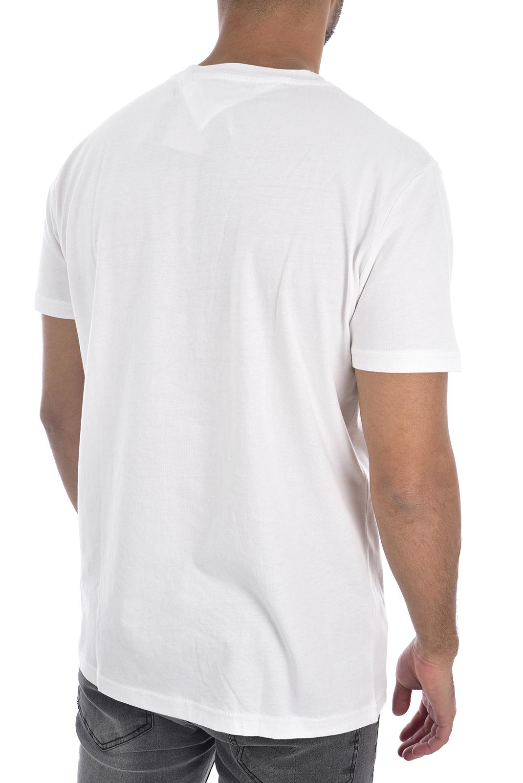 T-S manches courtes  Tommy Jeans DM0DM07537 YA2 CLASSIC WHITE
