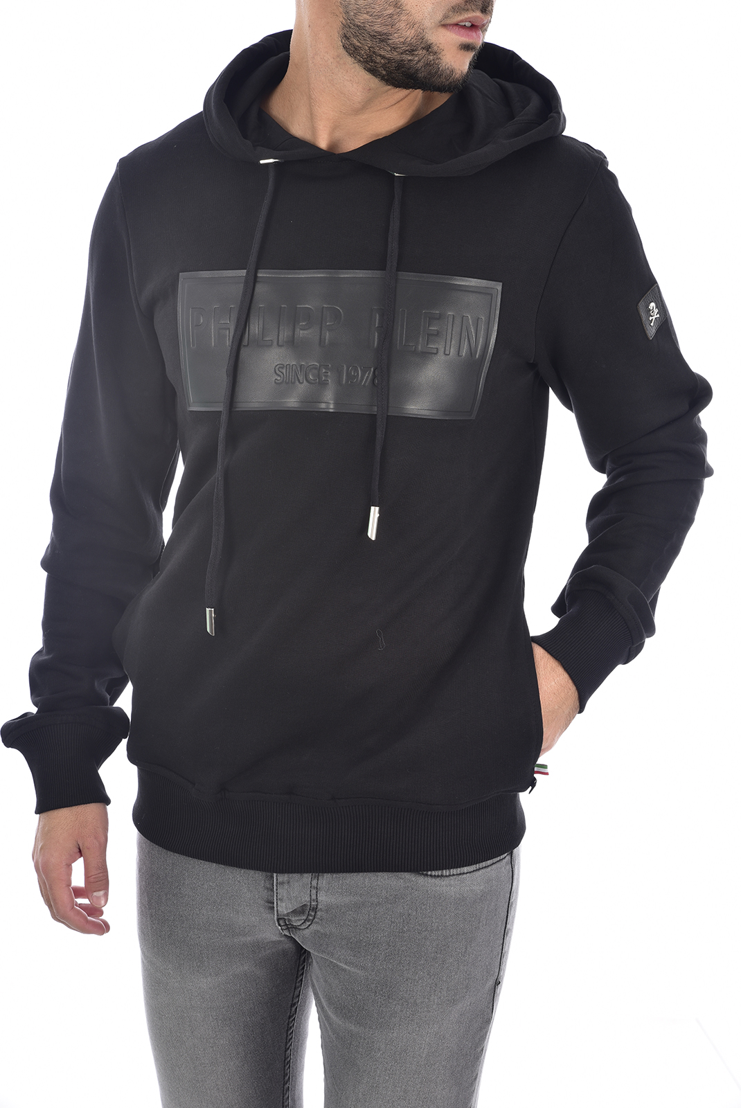 Sweatshirts  Philipp plein MJB0169 ALAN NOIR