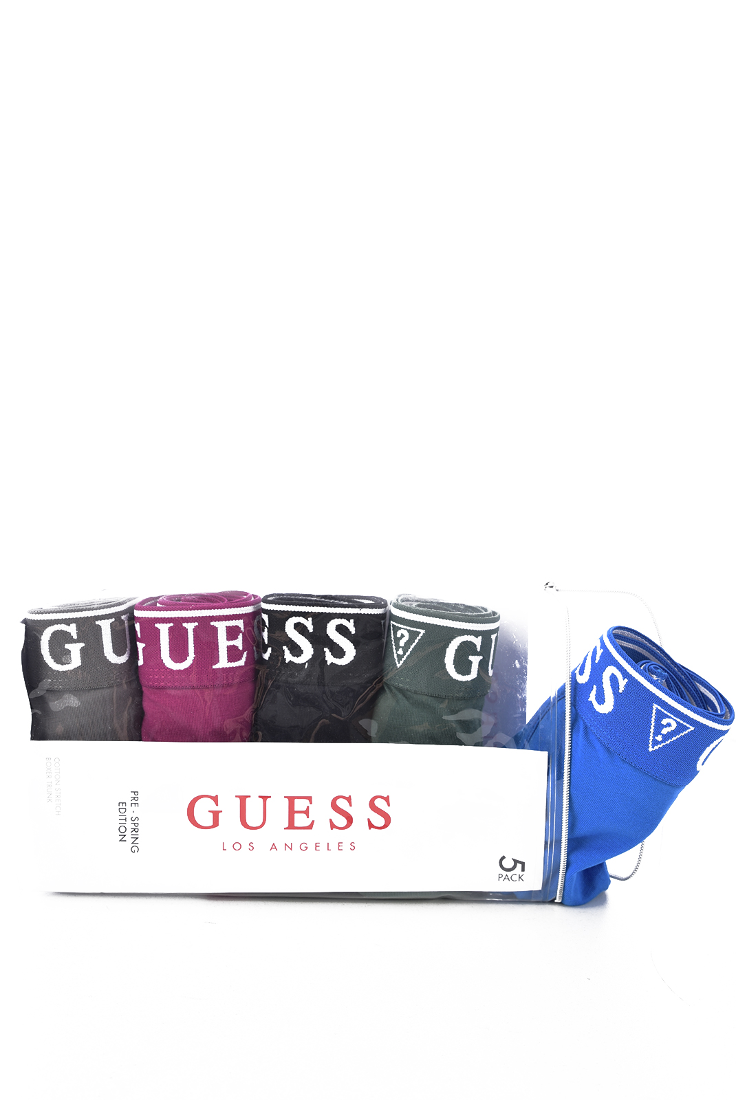 Slips-Caleçons  Guess jeans U94G16 JR00A FQ90 BLACK BLUE COMBO