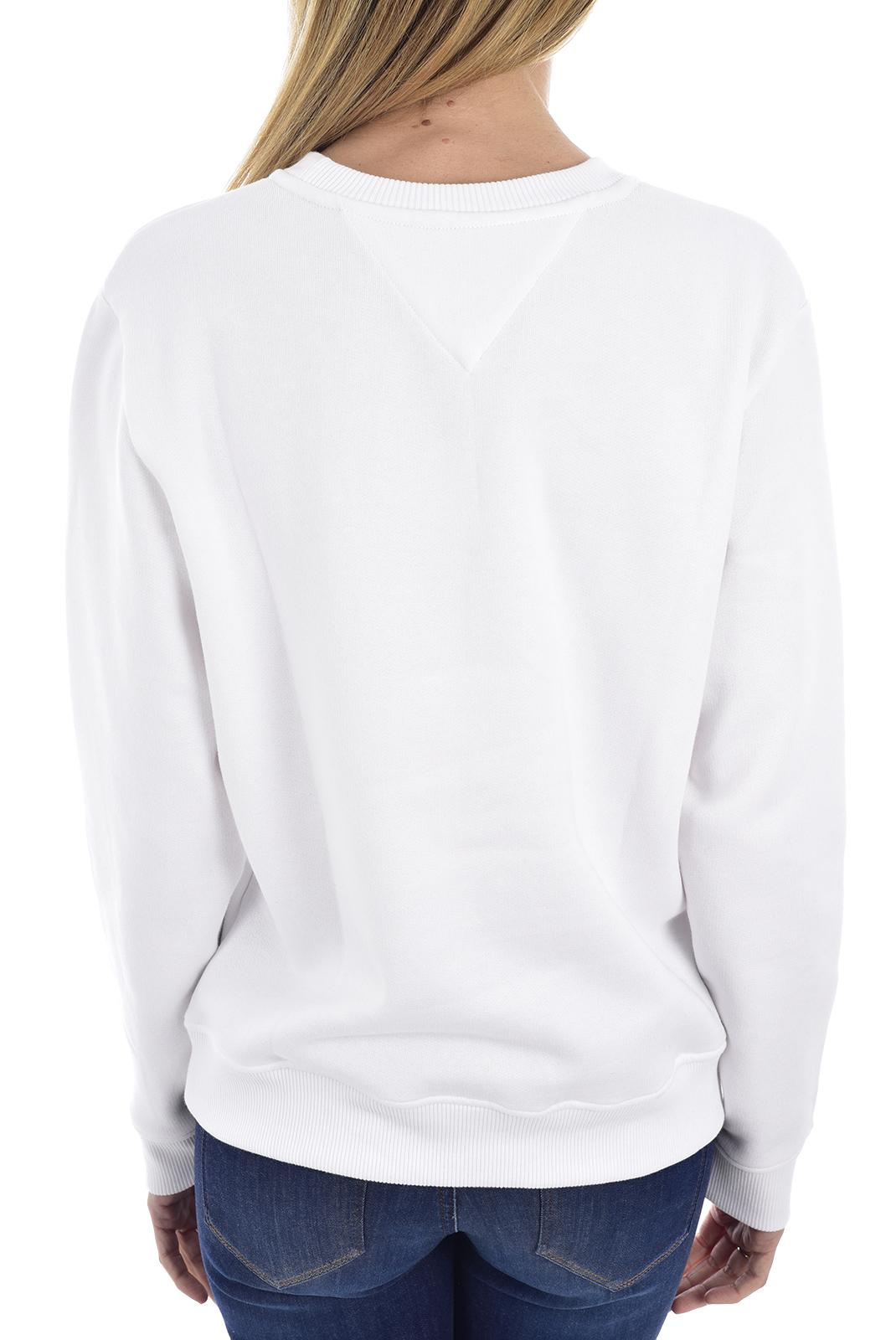 Sweat / sweat zippé  Tommy Jeans DW0DW07543 YA2 CLASSIC WHITE