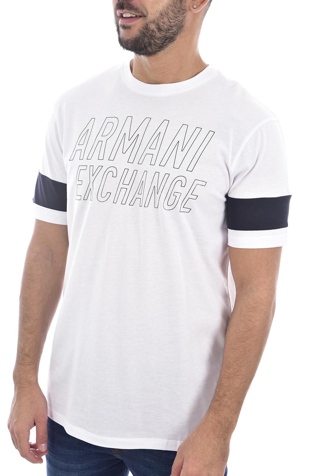 T-S manches courtes  Armani exchange 6gztbw zjh4z BLANC