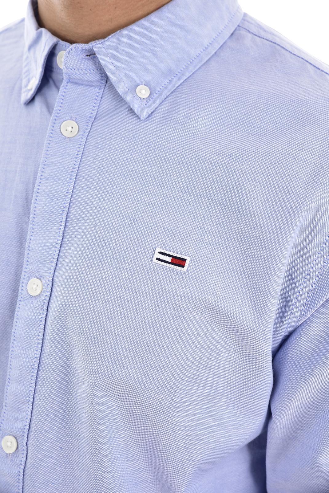 Chemises manches longues  Tommy Jeans DM0DM06562 414 LIGHT BLUE
