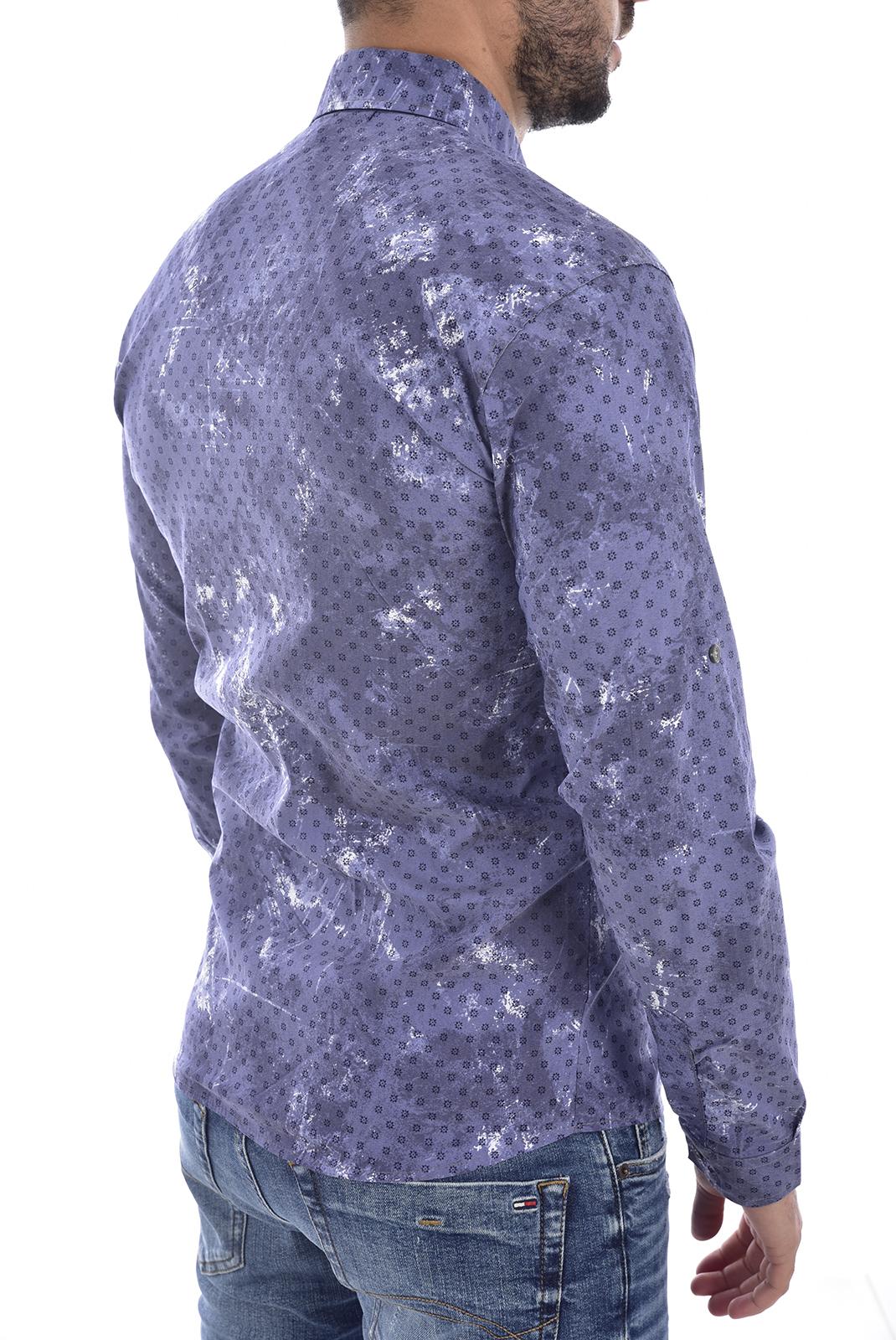 Chemises manches longues  Goldenim paris 1023 BLEU