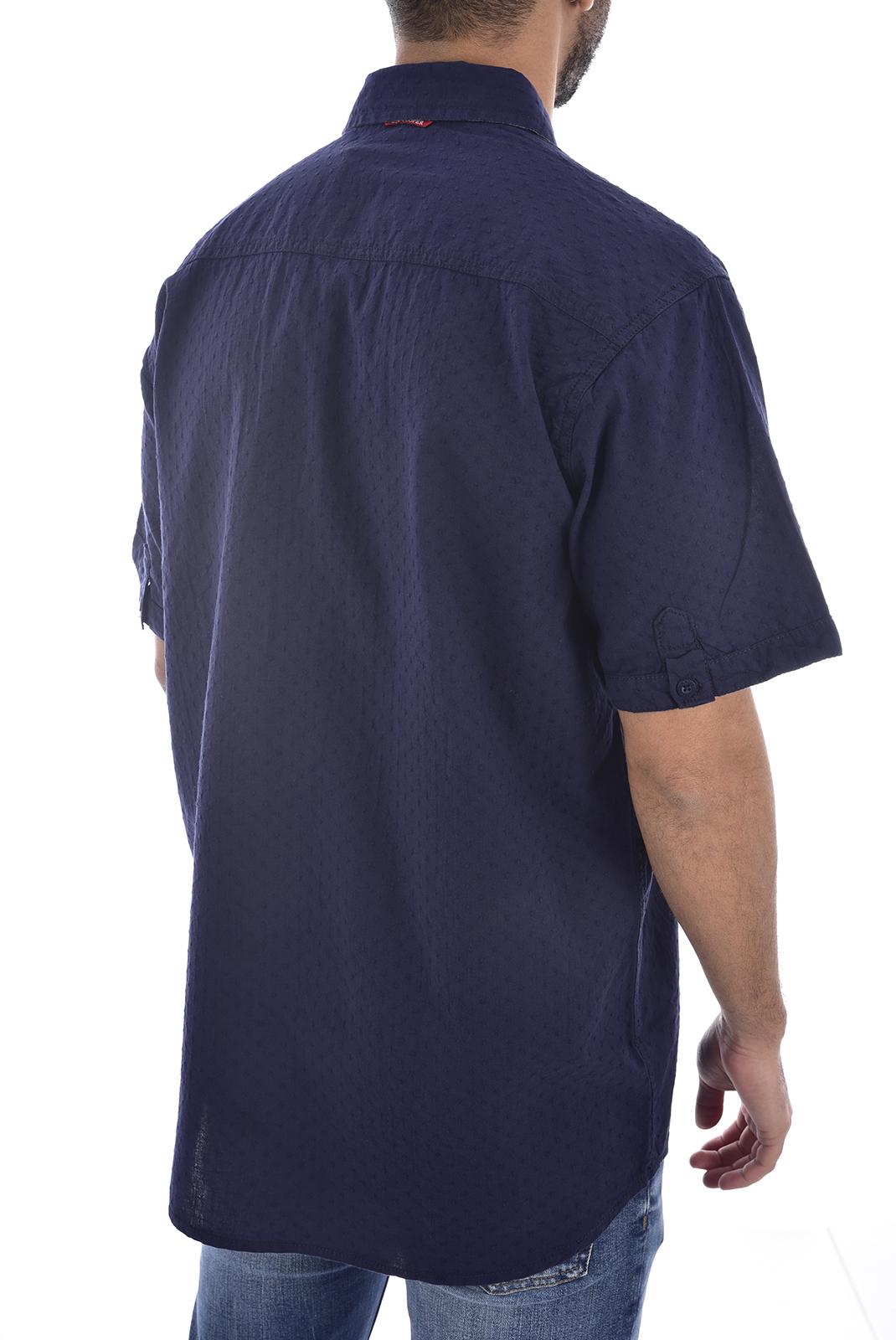 Chemises manches courtes  Lee cooper DODGER DARK NAVY