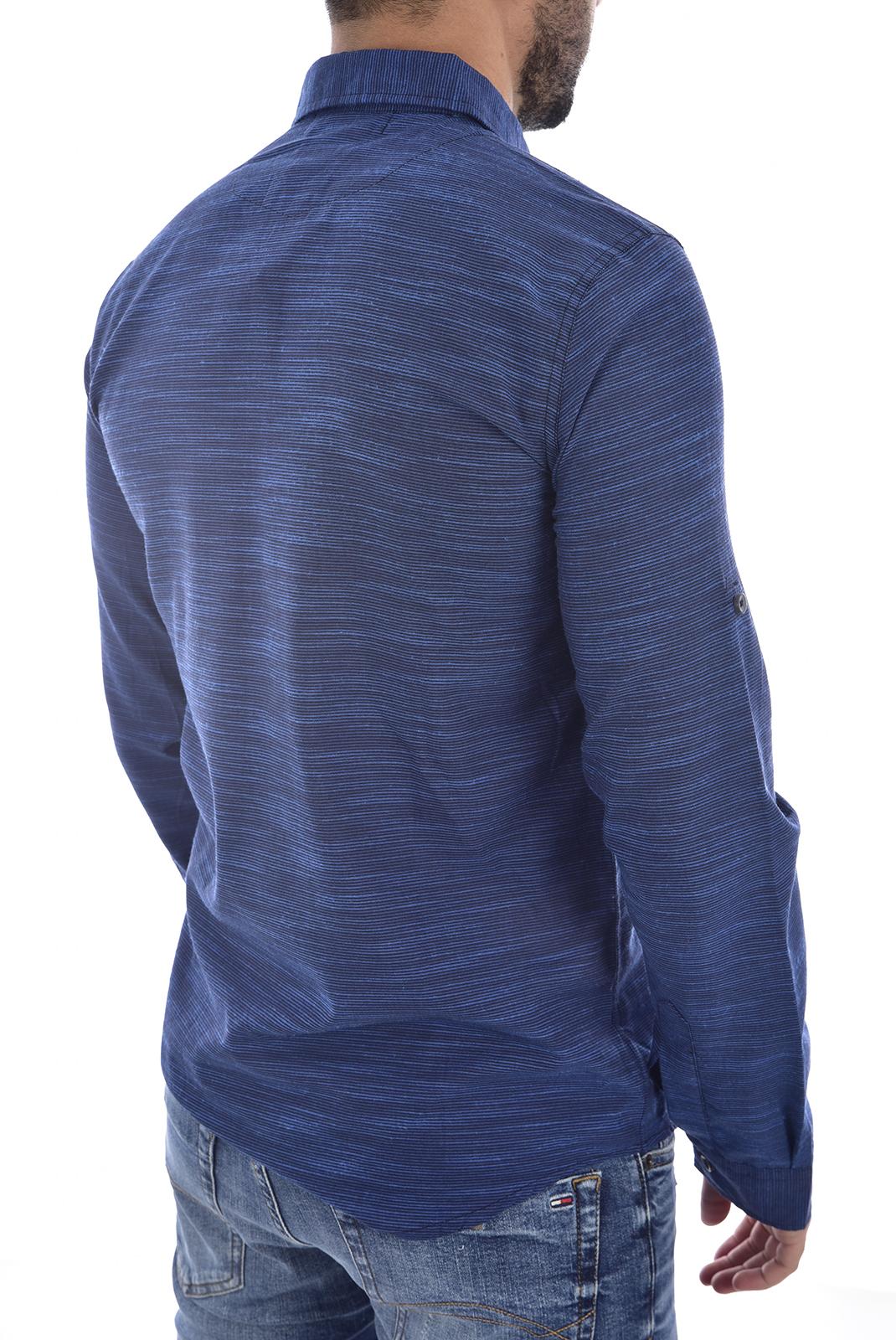 Chemises manches longues  Goldenim paris 1022 BLEU