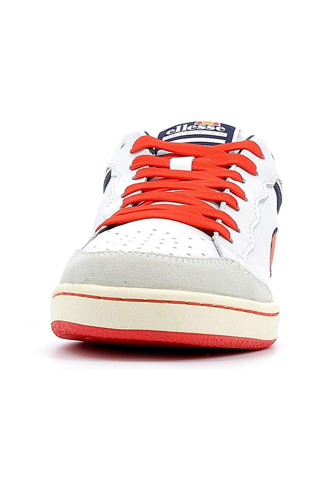 Baskets / Sport  Ellesse EL814468 H 02 WHITE / DEEP SCARLET