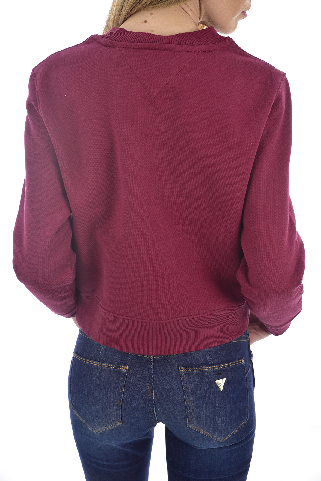 Sweat / sweat zippé  Tommy Jeans DW07414 VG5 BORDEAUX