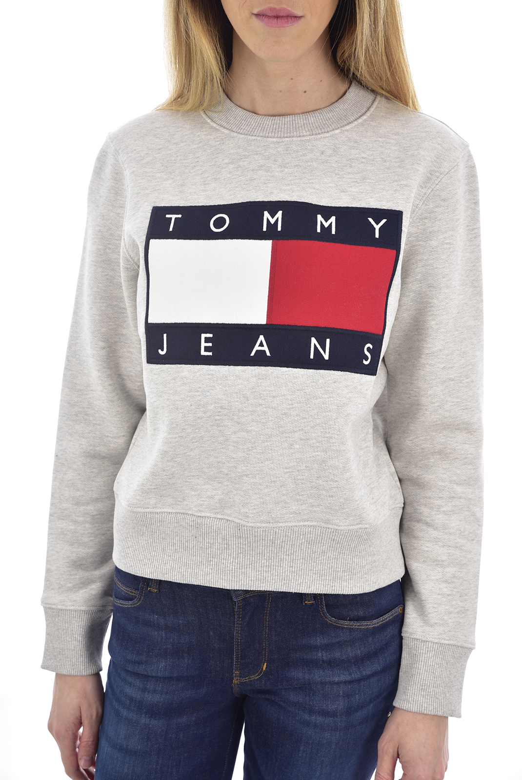 Sweat / sweat zippé  Tommy Jeans DW07414 PPP GREY