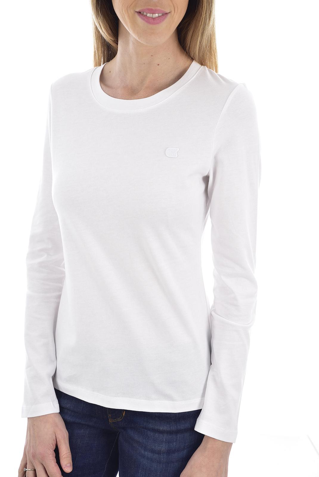 Tee shirt manches longues  Calvin klein J20J212586 YAF Bright White