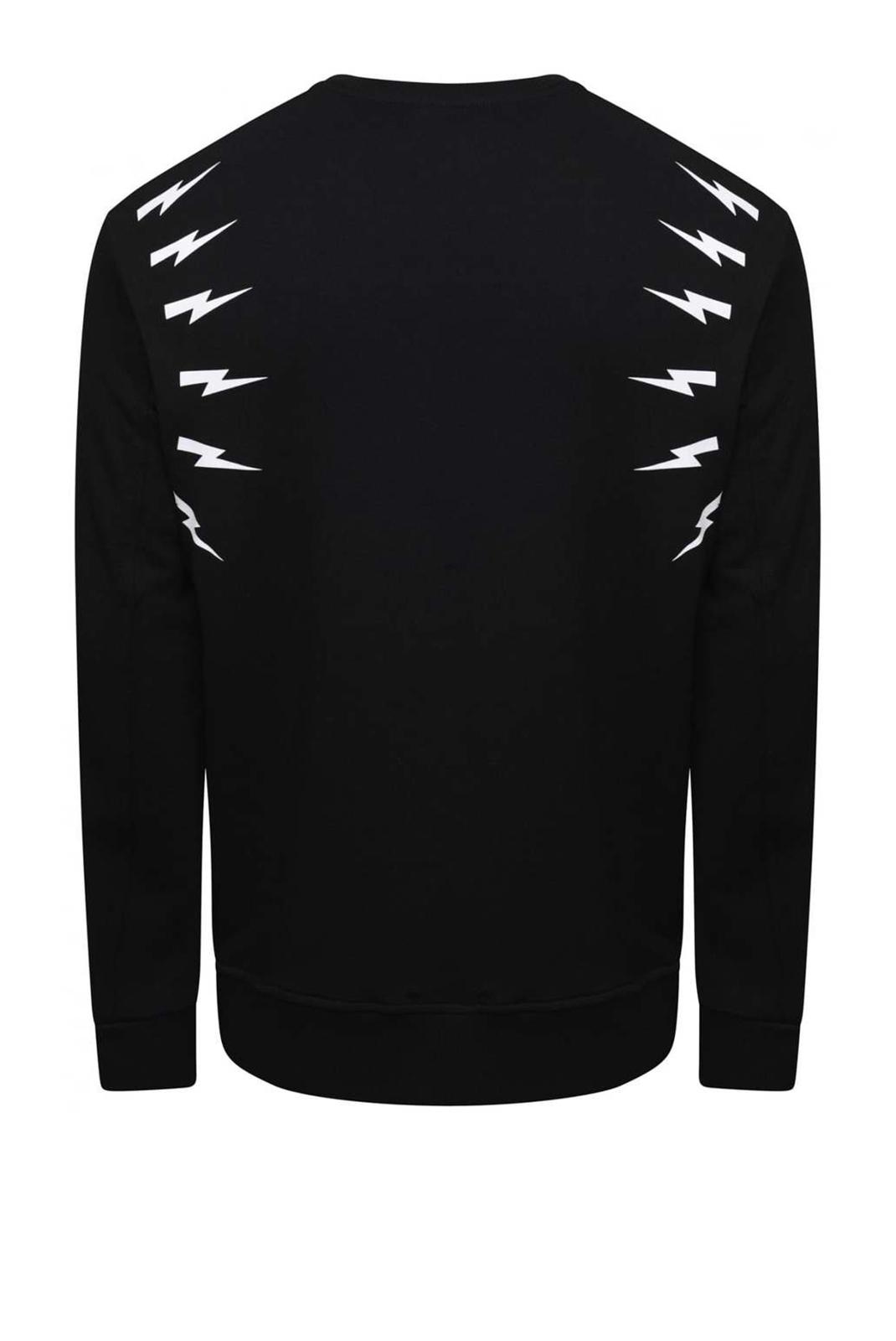 Sweatshirts  Neil Barrett PBJS333A 524 BLACK/WHITE