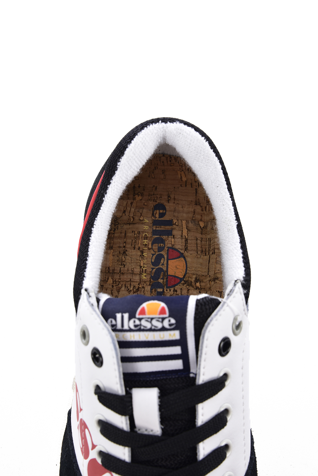 Baskets / Sport  Ellesse EL82448 H 03 WHITE BLACK RED