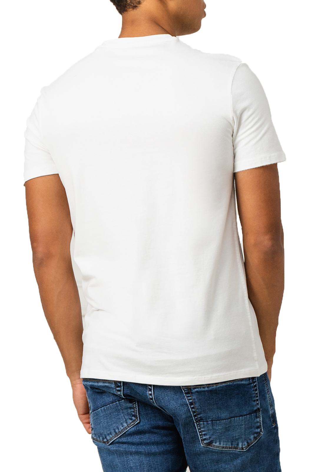 T-S manches courtes  Guess jeans M0GI32 J1300VN SS CORE TRUE WHITE A000