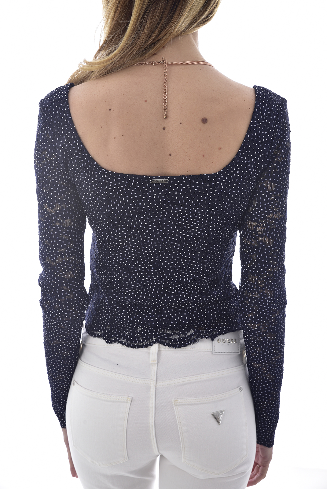 Top   Guess jeans W0GP32 K9OT0 SELENE F76CDOTS LA LA NIGHT