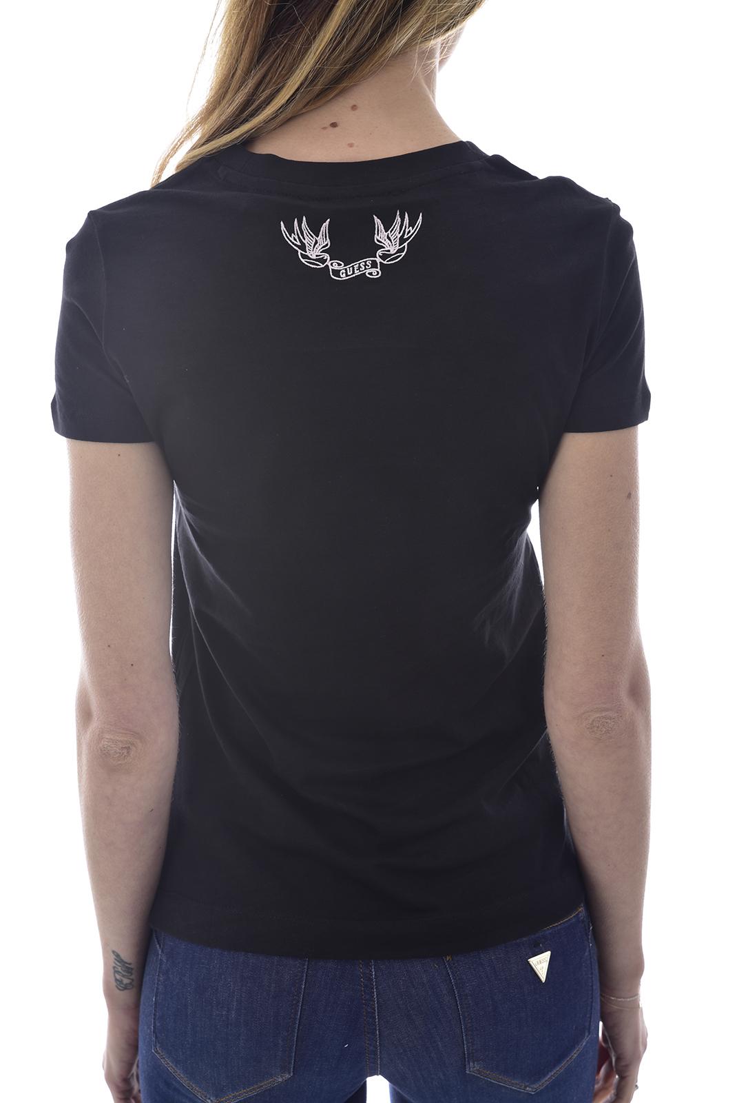 Tee shirt  Guess jeans W0GI47 JA900SS CN VIVIANA JBLKJet Black A996