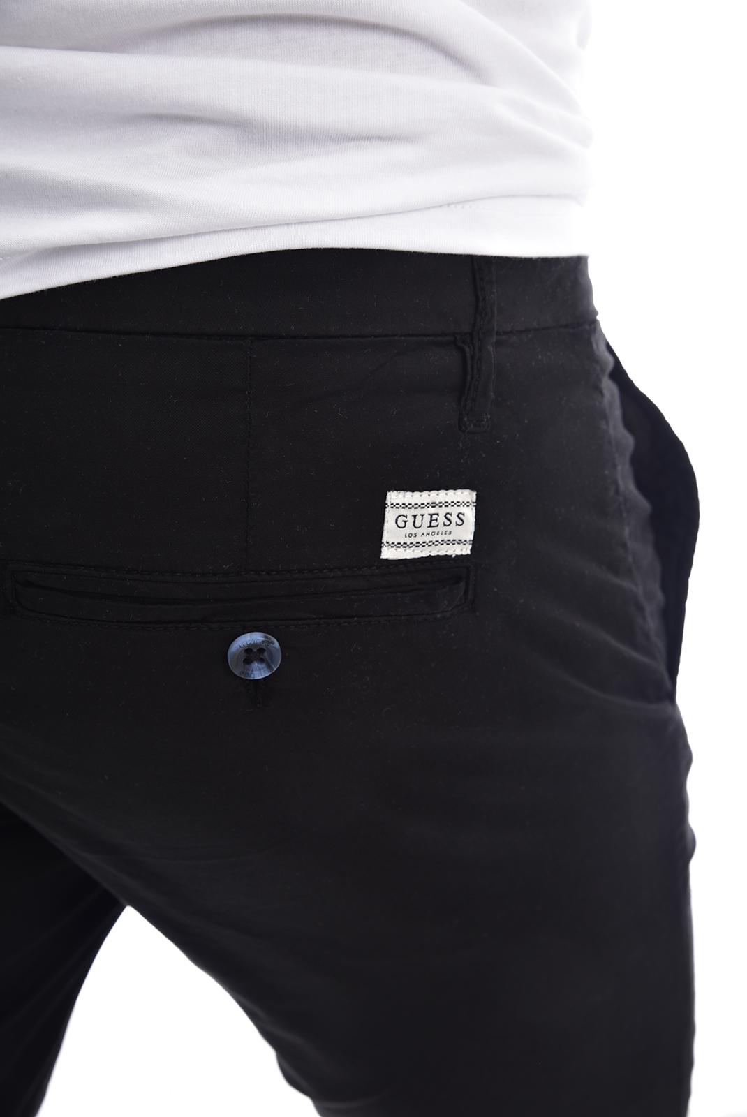 Homme  Guess jeans M02D05 WCRJ1 DANIEL Jet Black A996