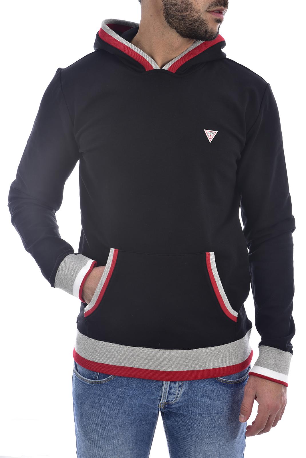 Sweatshirts  Guess jeans M0GQ82 K6ZS0 ALBAN Jet Black A996