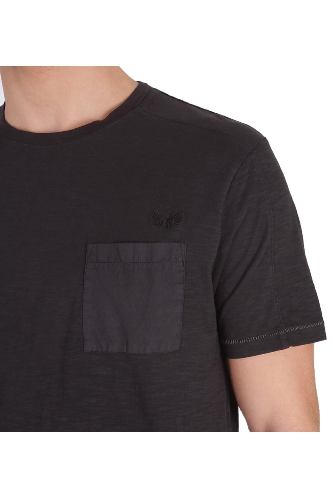 T-S manches courtes  Kaporal WALIS BLACK