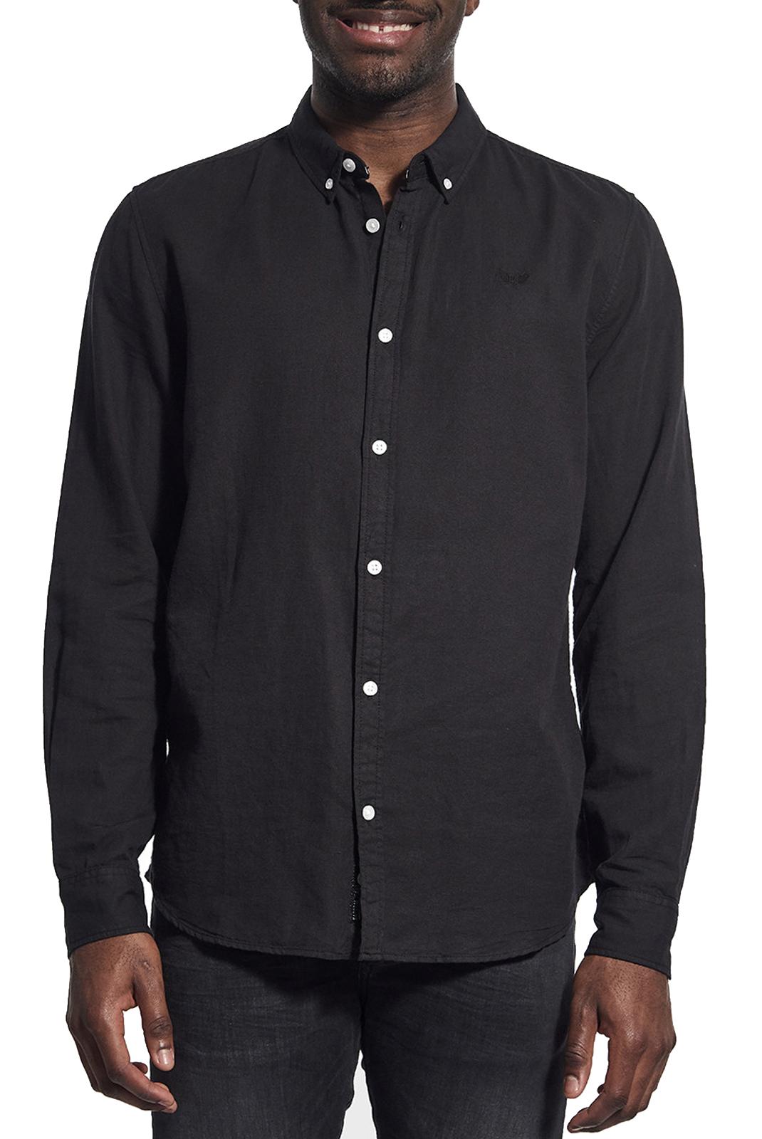 Chemises manches longues  Kaporal WOLF BLACK