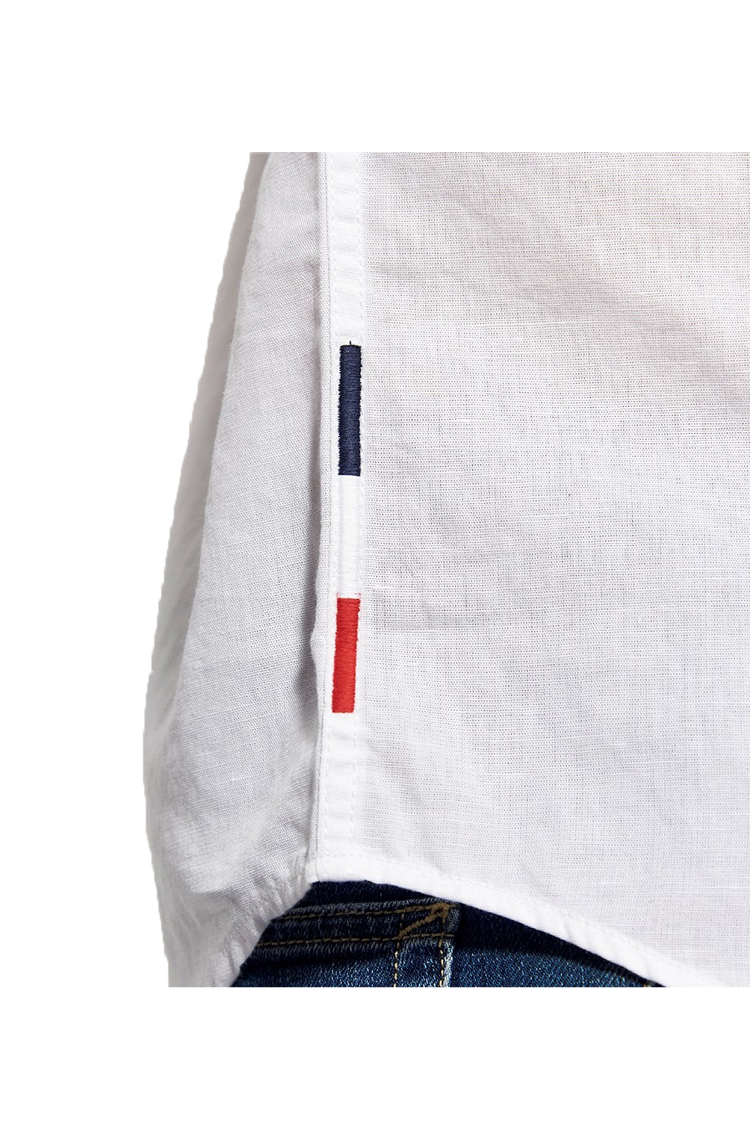 Chemises manches longues  Kaporal WOLF WHITE