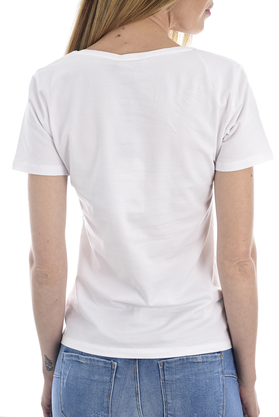 Tee shirt  Kaporal RAP WHITE