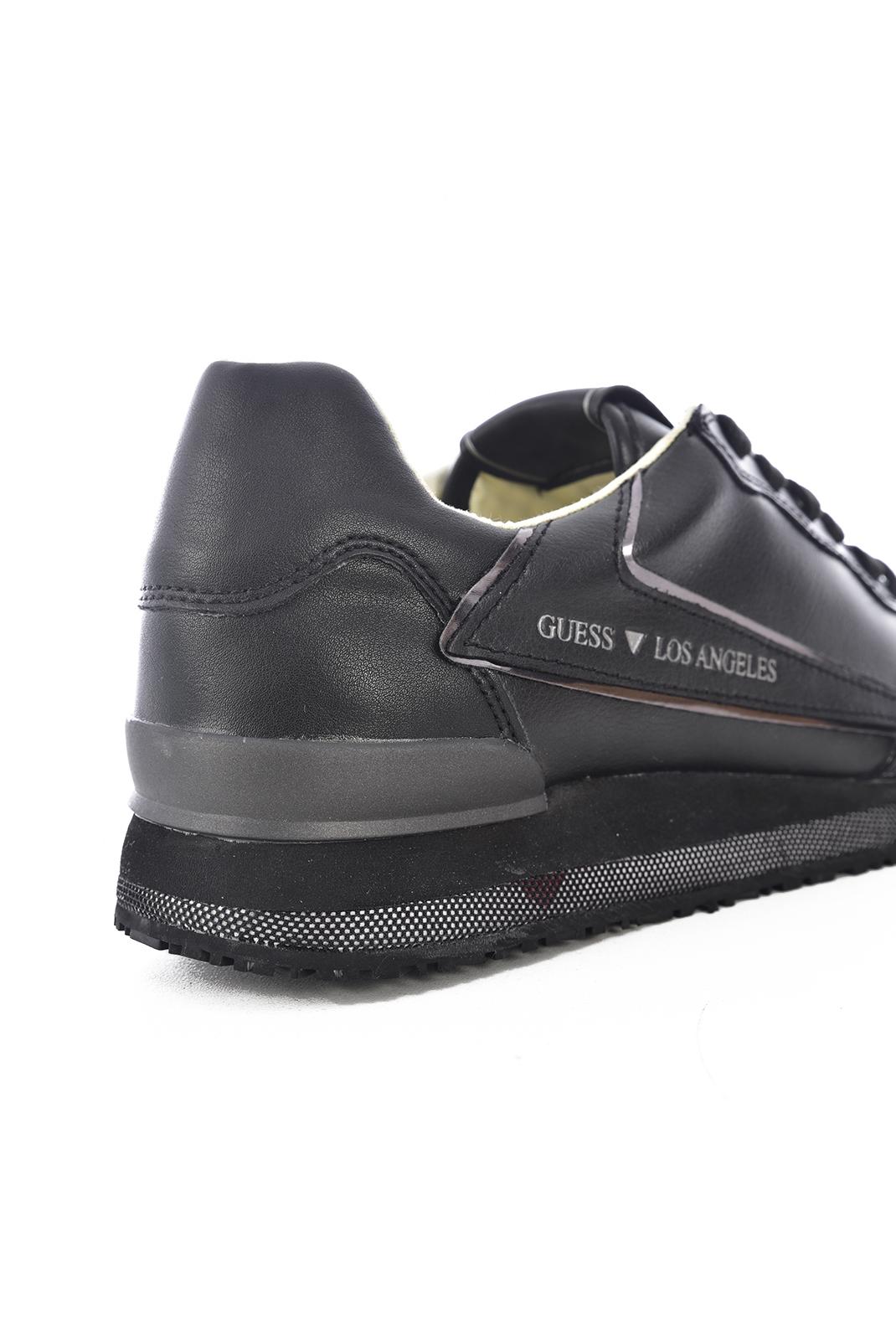 Baskets / Sport  Guess jeans FM6GEN LEA12 GENOVA BLACK
