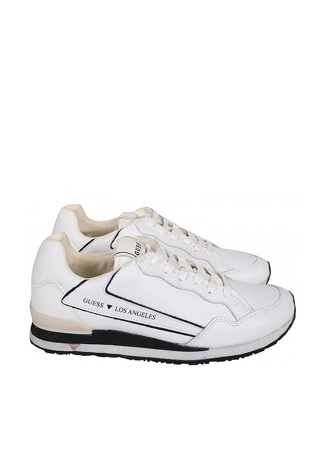 Baskets / Sport  Guess jeans FM6GEN LEA12 GENOVA WHITE