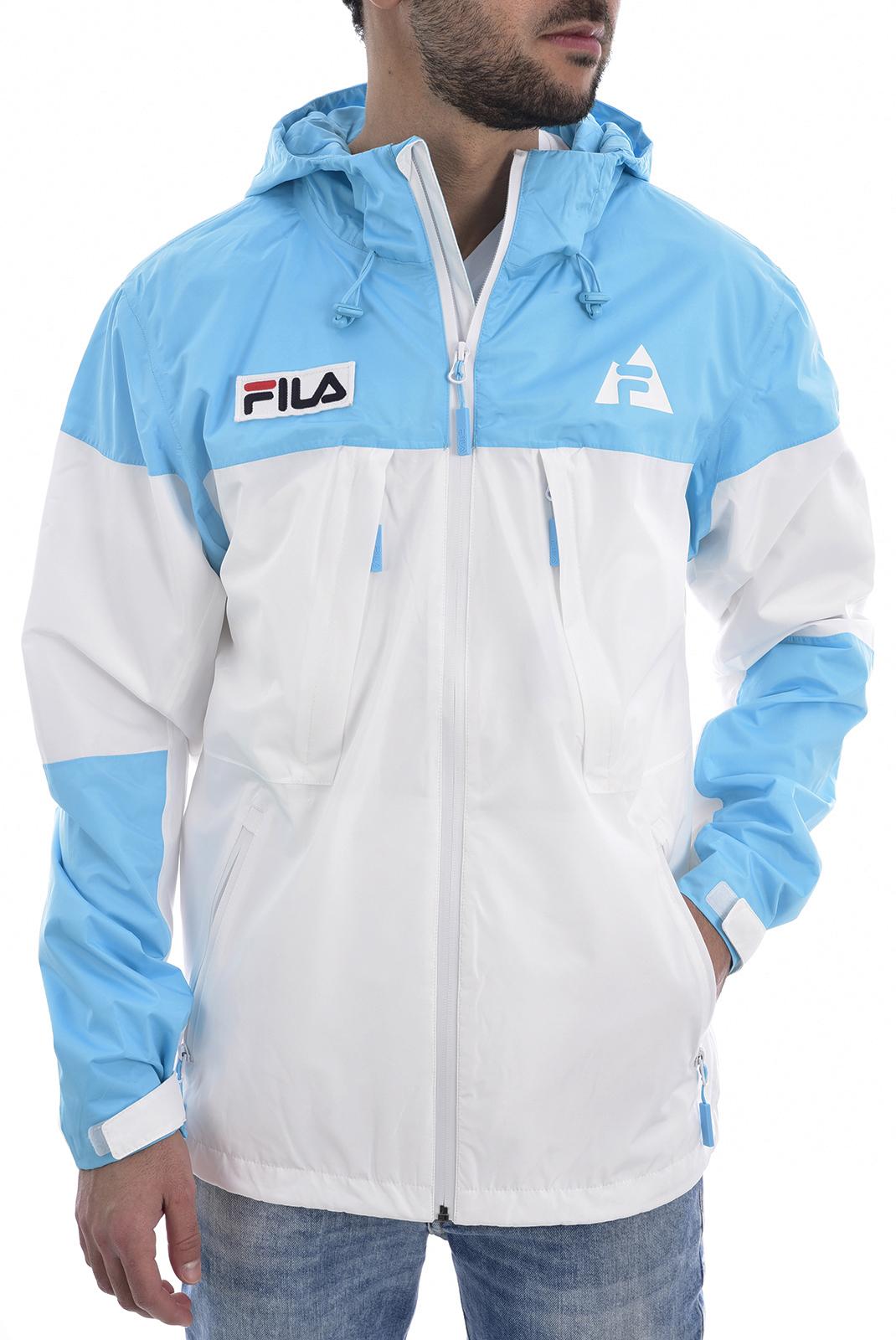 Blousons / doudounes  Fila 687122 HOLT SHELL A276 bright white-blue atoll