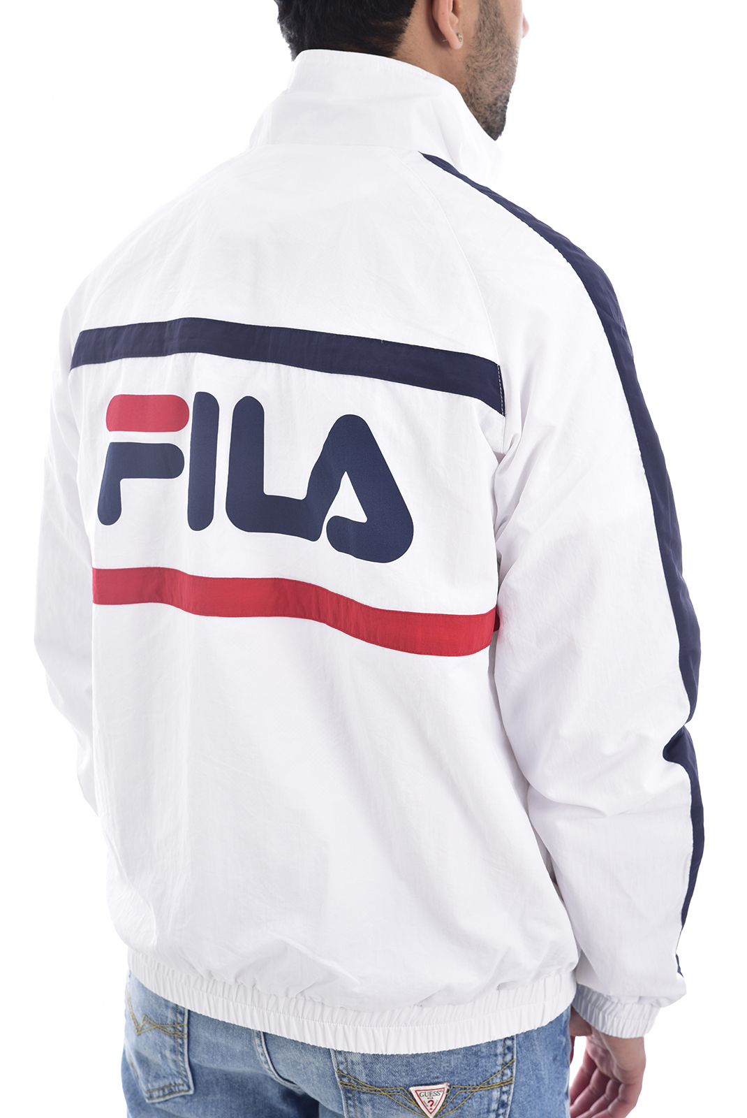 Sweatshirts  Fila 687032 JONA K15 bright white-black iris-true red