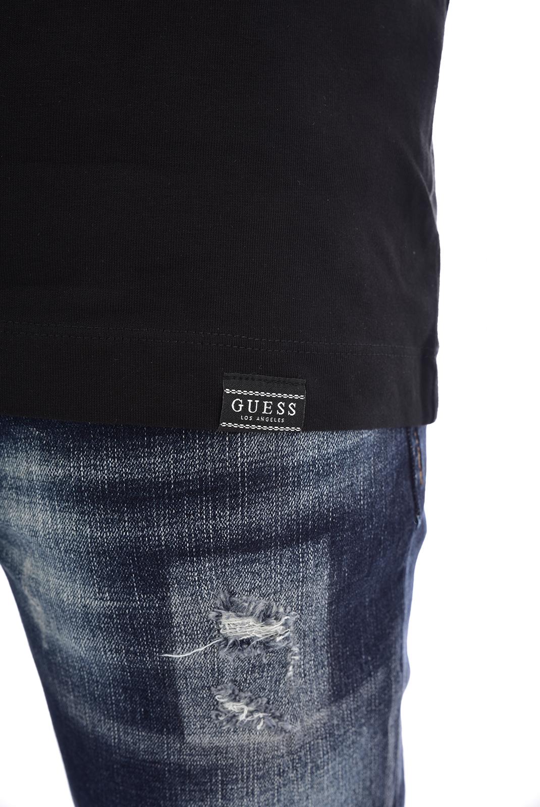 T-S manches longues  Guess jeans M93I48 K8FQ0CN LS URBAN JBLK Jet Black A996