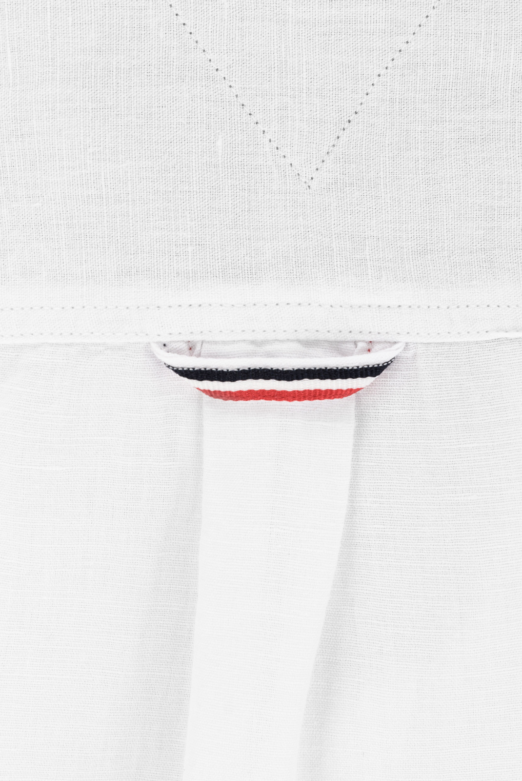 Chemises manches longues  Tommy Jeans DM04197 SOLID 100 CLASSIC WHITE