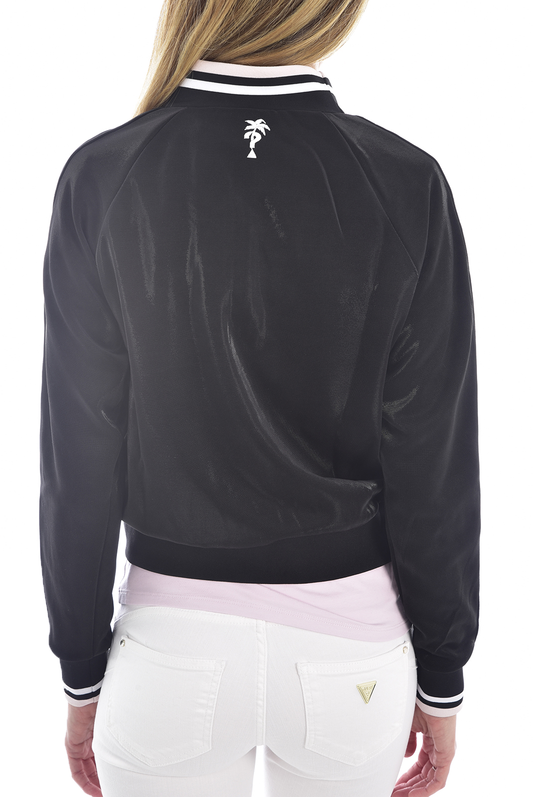 Sweat / sweat zippé  Guess jeans W0GQ30 K9QQ0 IZARRA JBLKJet Black A996