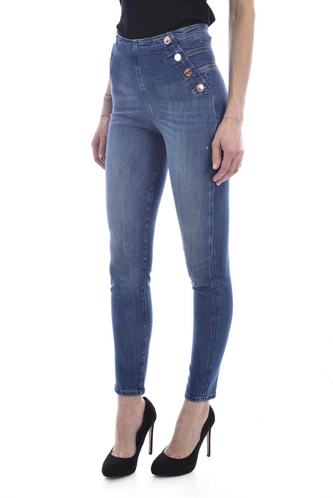 Jeans   Guess jeans W02A13 D32J7 ULTRA CURVE HIGH DOUBLE ECFMECO FEATHER MID