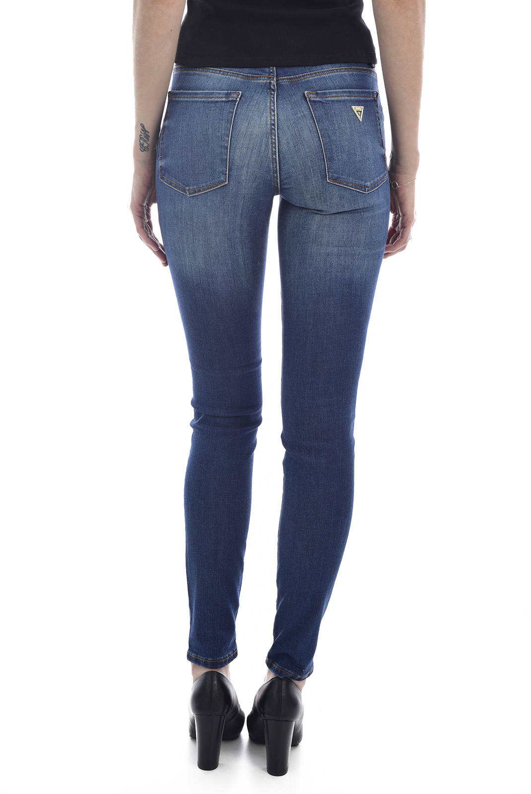 Jeans   Guess jeans W0GA99 D41F2 ANNETTE MROSMELROSE