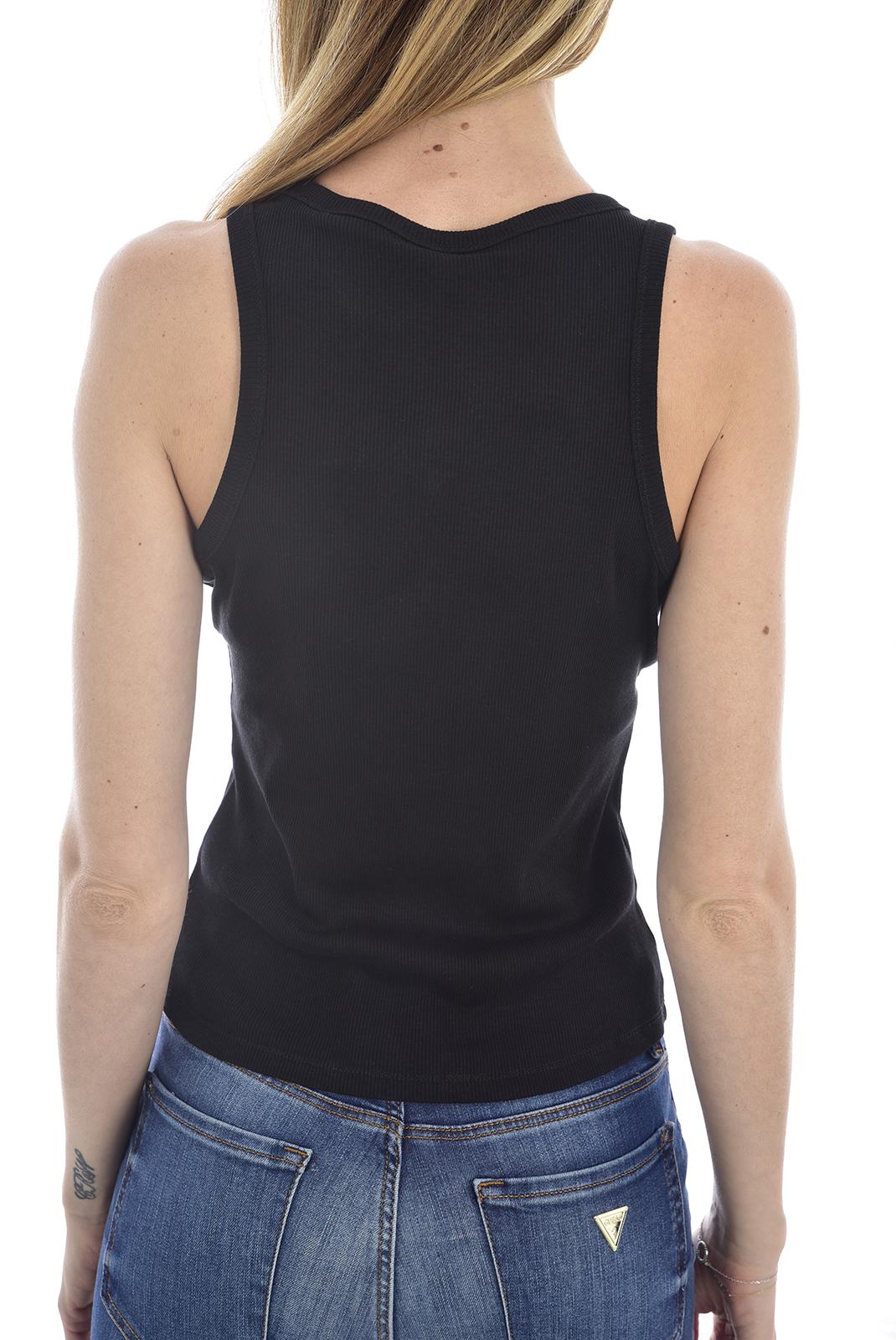 Débardeur  Guess jeans W0GP08 K9ON0 AFRODITE JBLKJet Black A996