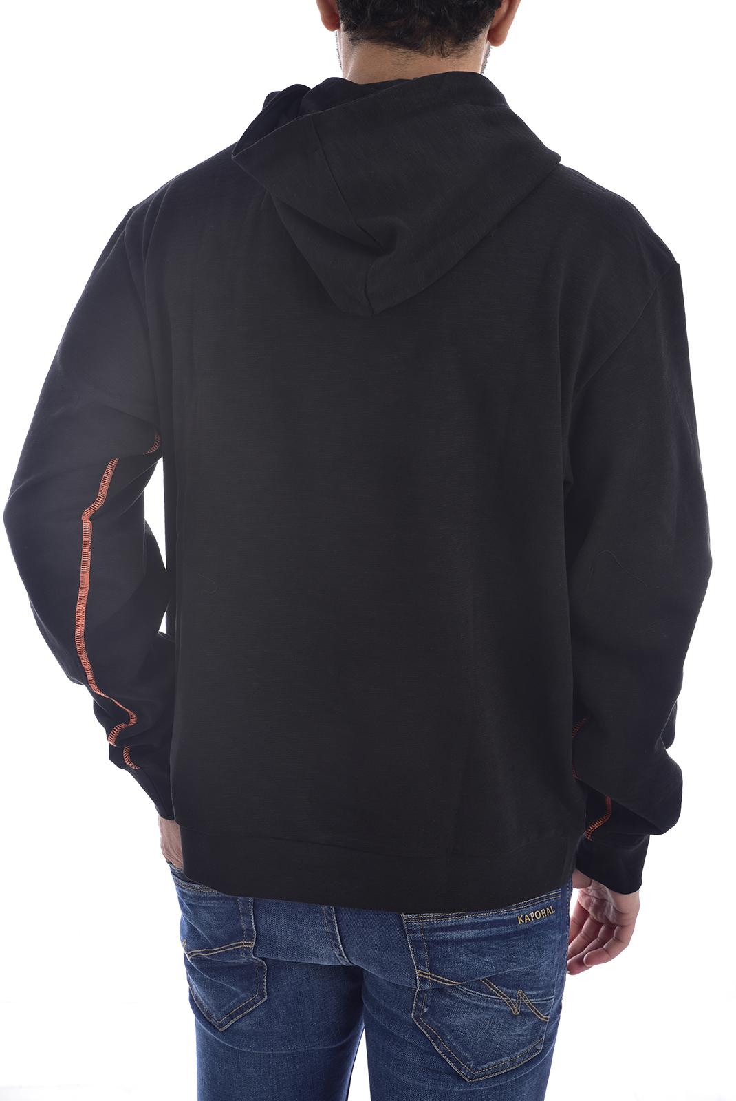 Sweatshirts  Guess jeans M0GQ83 K9PK0 DRAKE Jet Black A996
